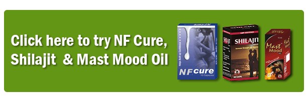 Shilajit, NF Cure and Mast Mood Oil